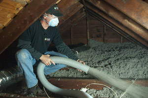 Cellulose Insulation Installation In Northern Panhandle