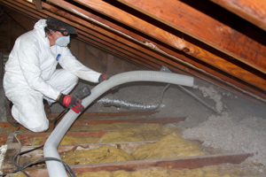 Blown-in Insulation in Wheeling
